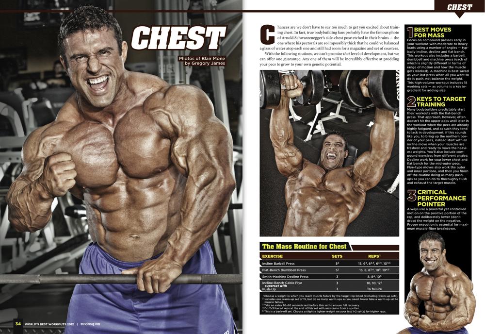 Bodybuilding Tear Sheet | Gregory James Photography