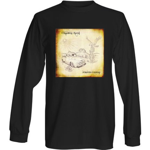 Long Sleeve Forever Changed T- Shirt BLACK