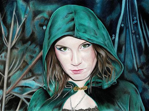 Original Fantasy Artwork By Chantell Alexi