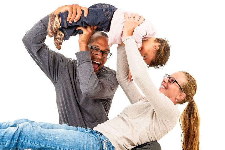 Interracial Family Is Having Fun..jpg