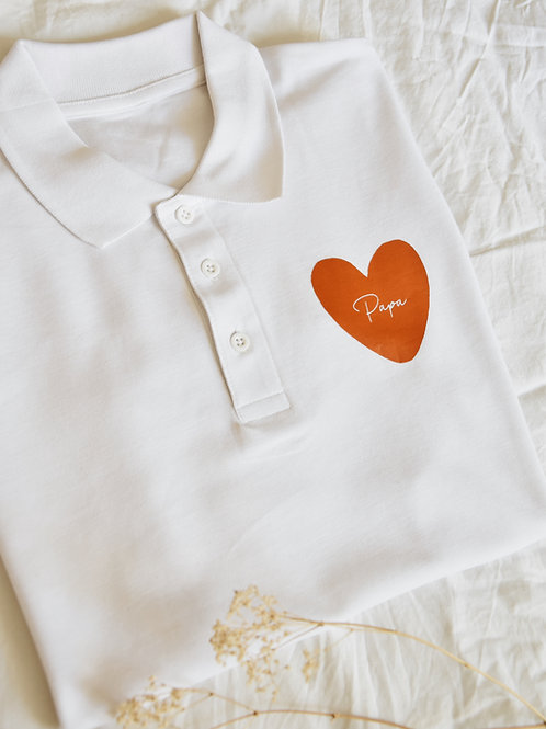 "Polo Homme ""COEUR"""