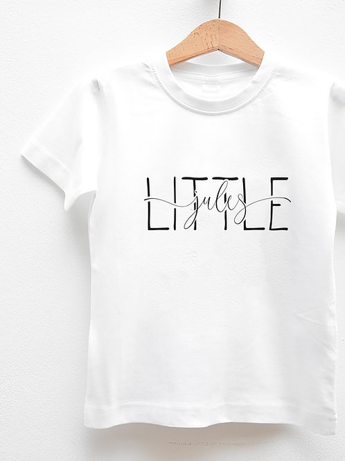 Tee-Shirt Manches Courtes « LITTLE »