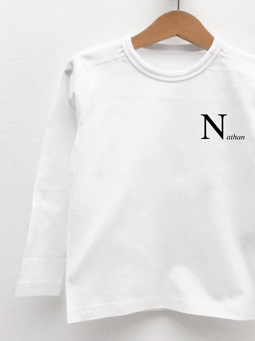 Tee-Shirt Manches Longues « INITIALE »