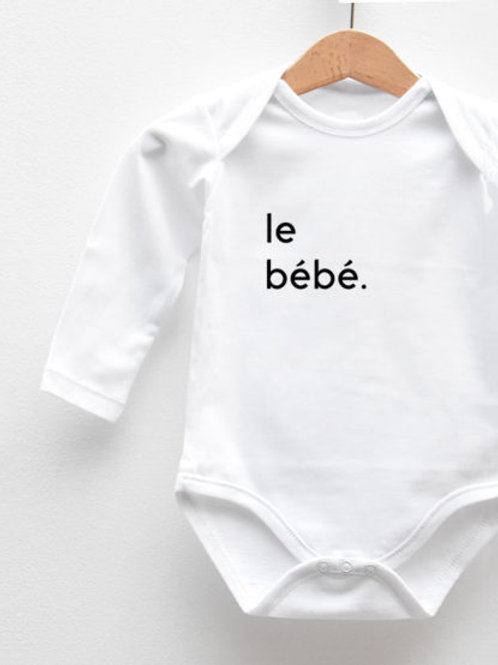 Body Manches Longues « LE BÉBÉ. »