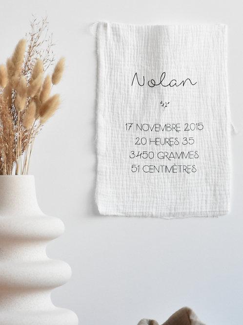 Affiche En Tissu - A4