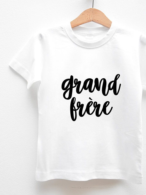 Tee-Shirt Manches Courtes « TOGETHER GRAND FRÈRE »