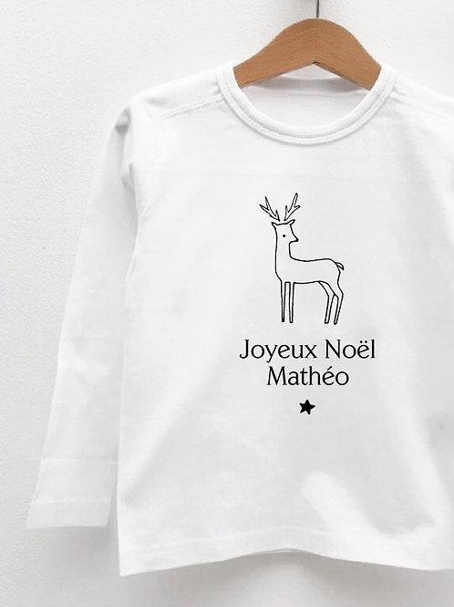 Tee-Shirt Manches Longues « BICHE »