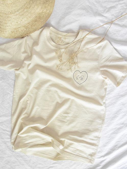 "Tee-Shirt Femme Loose ""TOI+MOI"""
