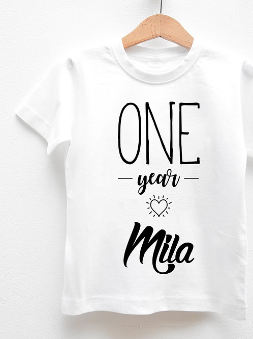 Tee-Shirt Manches Courtes « BIRTHDAY GIRL »