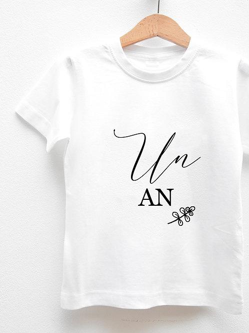 Tee-Shirt Manches Courtes « AN »