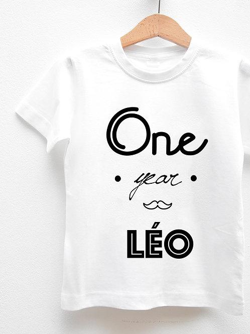 Tee-Shirt Manches Courtes « BIRTHDAY BOY »