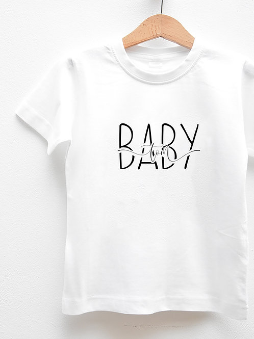 Tee-Shirt Manches Courtes « BABY »