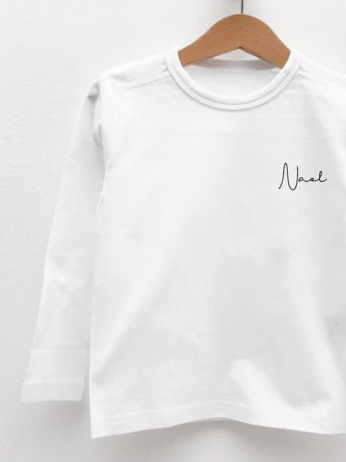 Tee-Shirt Manches Longues « SIGNATURE »