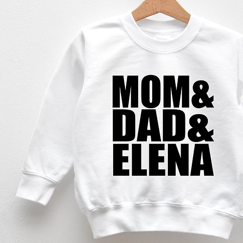 Sweat Enfant « MOM&DAD »