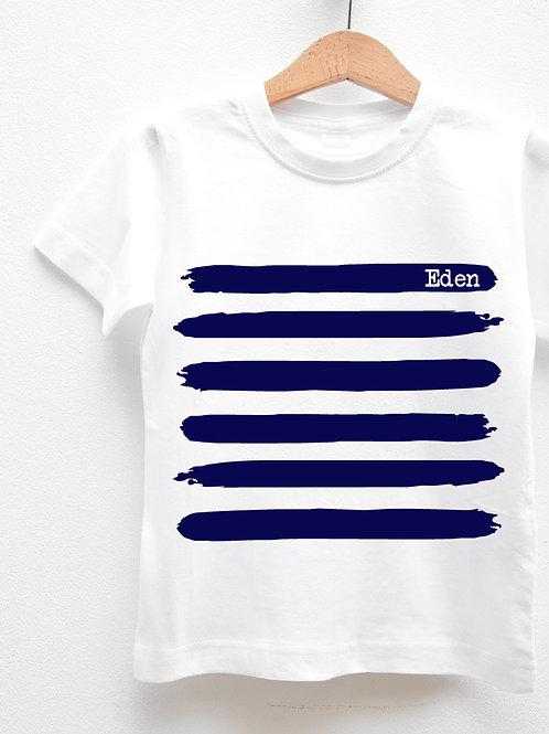 Tee-Shirt Manches Courtes « MARINIÈRE »