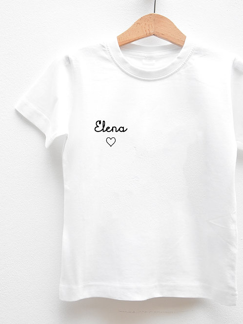 Tee-Shirt Manches Courtes « FIRSTNAME »