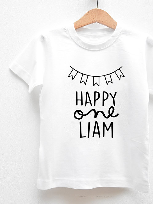 Tee-Shirt Manches Courtes « HAPPY ONE »