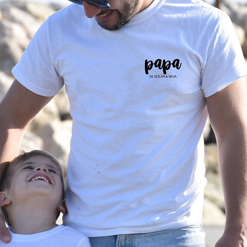 "Tee-Shirt Homme ""TOGETHER - PAPA"""