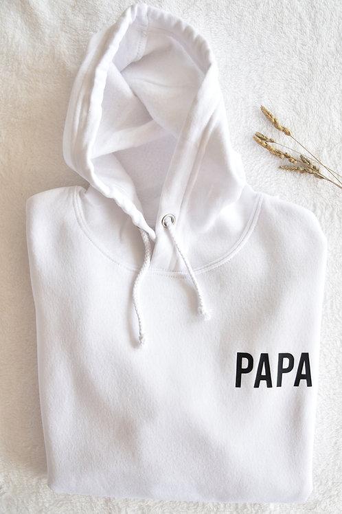 """Sweat À Capuche Homme """"PAPA"""""""