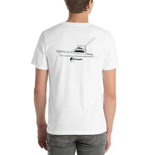 Egg Harbor 60' Classic 1988 Short-Sleeve Unisex T-Shirt