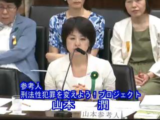 刑法性犯罪審議に性虐待被害者が参考人招致【6/16】