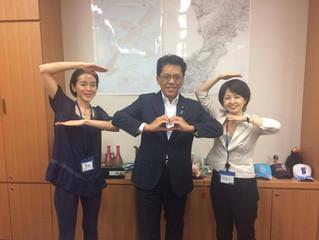 宮崎政久 衆議院議員にお会いしました!