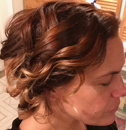 Curly Up-Do