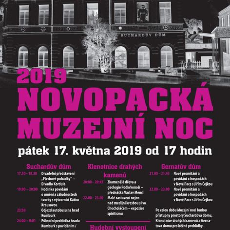 Muzejní noc-plakát