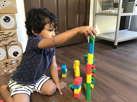 problem solving, sorting, balancing and building