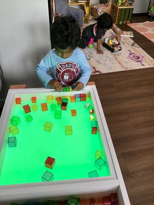 Exploring light through colors