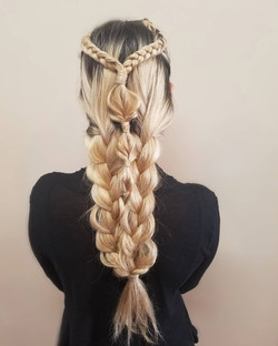 Braid combinations for special event