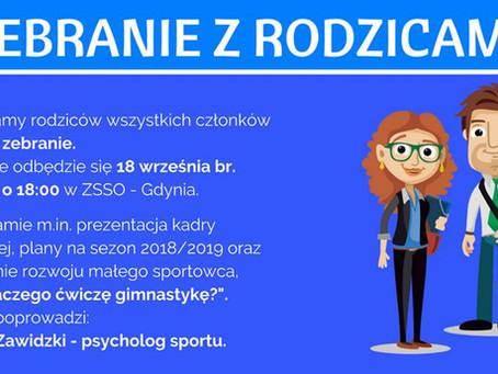 SGA Gdynia - szkolenie dla rodziców