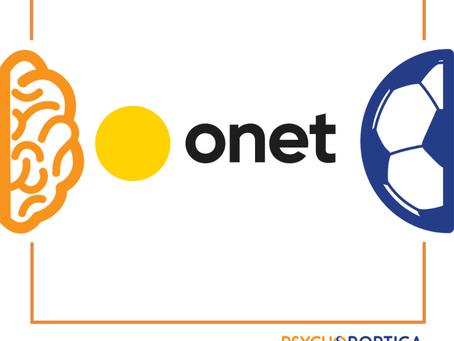 Onet.pl - Praca systemowa nad mentalnoscią sportowca.