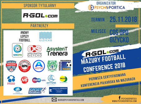 R-GOL MAZURY FOOTBALL CONFERENCE 2018 Giżycko