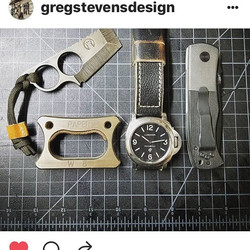 Just an awesome repost from our maker friend _gregstevensdesign over in Utah. He knows leather. Oh y