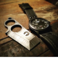 Beautiful photo of a beautiful watch from _gregstevensdesign  hanging out with one of our FIKs