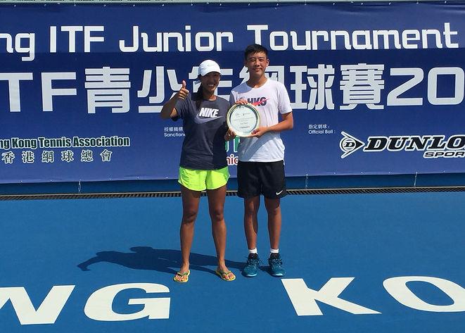 Coleman_2018 ITF Junior G5 in Hong Kong