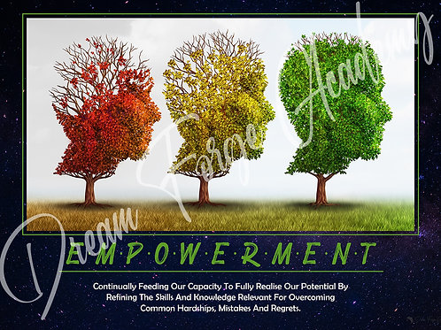 Empowerment Motivational Poster (Galaxy)