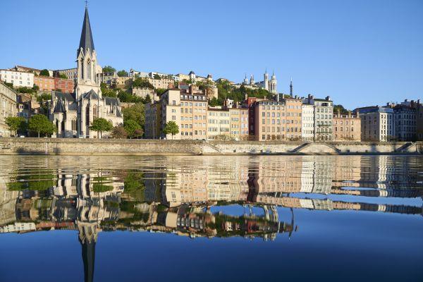 Choose a Rhone river cruise to visit Lyon