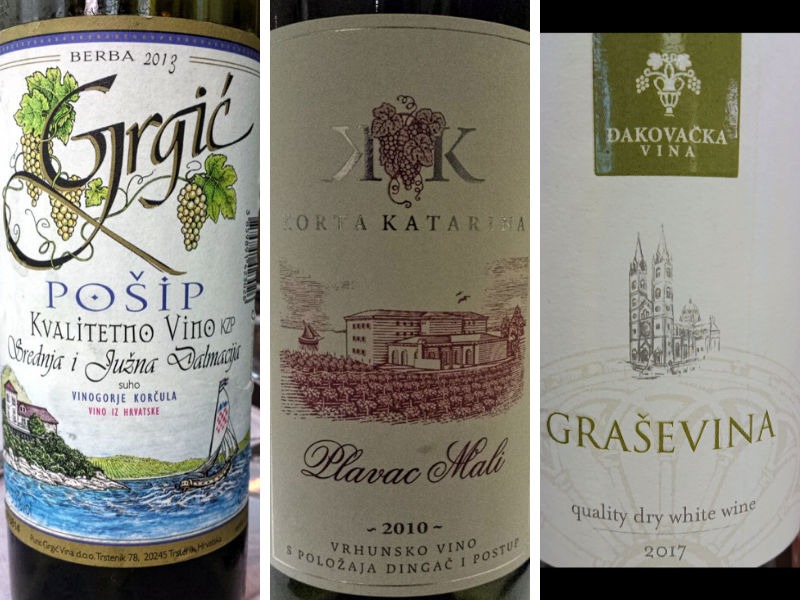 Posip, Plavac Mali, and Grasevina are just 3 of the many indigenous grape varieties you've got to sample on your next Croatia trip.