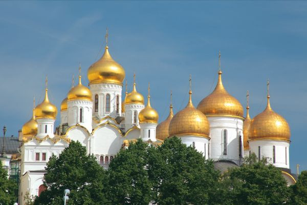 Choose a Russia river cruise to visit Moscow and St. Petersburg