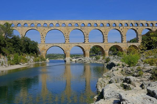 Choose the Rhone to see the Pont du Gard engineering marvel