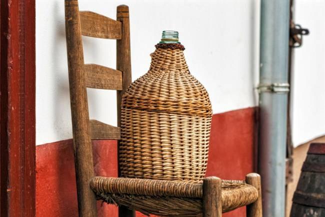 Hungarian wine jug