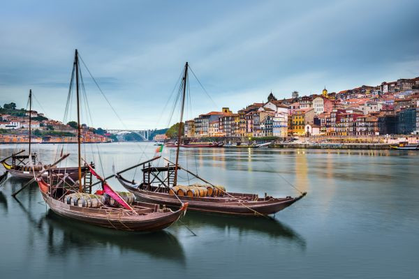 Porto is the starting port of Douro river cruises