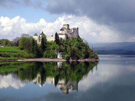 Niedzica Castle near Zakopane, Poland