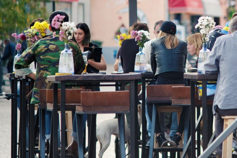 Zagreb's street cafes are the place to meet and people watch.
