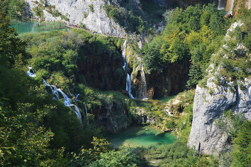 Plitvice Lakes national park is even more beautiful in spring!
