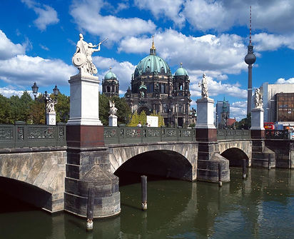 Palace Bridge, Berlin, Germany