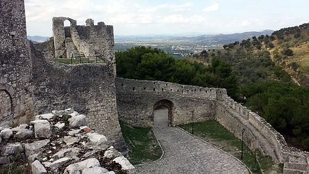 Berat Castle in Albania - UNESCO World Heritage Site