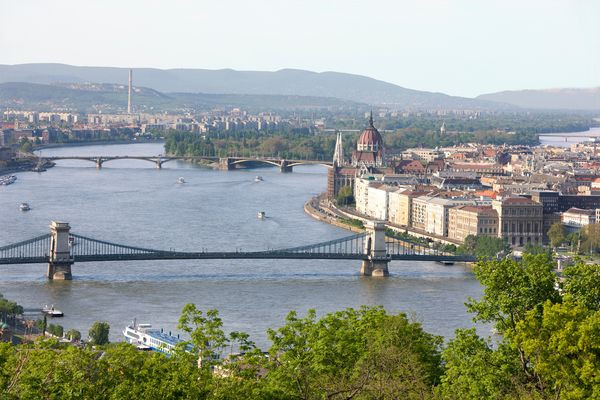 Choose a river: Budapest on the Danube